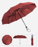 رخيصة أحمر آليّة مفتوحة ترقية 3 ثني مظلة لأنّ سيادة