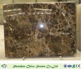De donkere Emperador Chinese Marmeren Bruine Tegel van Plakken