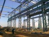 Edificio prefabricado de acero de la construcción del metal con el mejor diseño