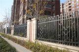 Clôture en acier galvanisée industrielle résidentielle élégante personnalisée de premier niveau