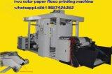 Caja de madera bolsas de máquina de impresión Flexo