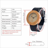 High Quality Wholesale Watch Natural Bamboo Wrist Watch Wooden Watch