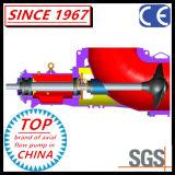 Bomba a dos caras química del codo del propulsor del flujo axial del acero inoxidable