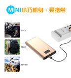 小型Portable1080p 10000mAh容量の夜間視界および動きの検出力バンクのビデオ・カメラ