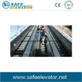 Escalera móvil al aire libre del pasajero