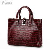 Тенденции моды Аллигатор женщин дамской сумочке верхней части ручки сумки классические дамской сумочке