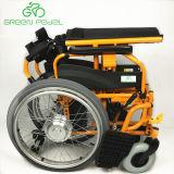 Sedia a rotelle elettrica Handicapped pieghevole della barra di comando di Greenpedel 2018 24V 250W