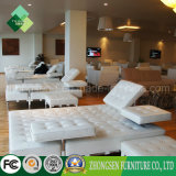ホテルのロビーで使用される広東省の家具ファブリックソファーの椅子