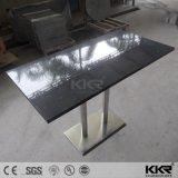 現代デザイン固体表面の人工的な石造りのダイニングテーブル