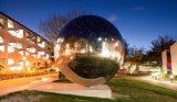grande sfera vuota esterna dell'acciaio inossidabile della sfera del giardino di 1500mm per la decorazione