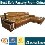 Beste Qualität L Form-Hotel-Vorhalle-Möbel-Leder-Sofa (A15-2)