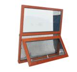 La exportación de madera y ventanas de aluminio toldo con Net