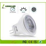 Lampe blanche MR11 GU10 2W 12V de la Chine spotlight ampoule LED