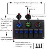Dimensões da placa de contactor de pedal pista 6