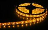 220V 110V SMD5050 60LED/M indicatore luminoso di strisce cambiante del LED colore flessibile bianco bianco/caldo di RGB