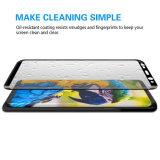 vidro Tempered completamente curvado da tela de 9h 3D para Samsung S7 Edge/S8/S8 mais