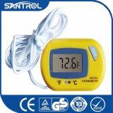 De gele Elektronische Thermometer van de Tank van Vissen