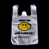 Nahrungsmittelgrad transparentes PET PlastikEinkaufstasche/Weste-Einkaufen-Beutel