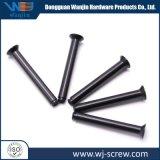 カスタマイズされた黒い固体管状の標準外ステップ平らなヘッド金属のリベット