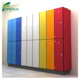 De kleurrijke Verticale Kast van 12 Kleren van de Deur HPL