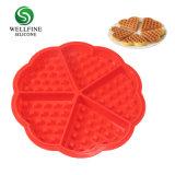 Силиконовый вафель формы бельгийского шоколада пресс-формы для приготовления вафель& торт пресс-формы