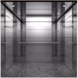 Ascenseur bon marché de passager des personnes 450kg des prix 6 petit avec tout l'acier inoxydable de délié