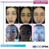 Nova Versão 3D portátil pequeno Analisador de pele facial Salão de Beleza Equipamento