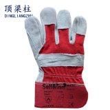 손 방어적인 안전 장갑을 용접하는 저항하는 가죽 작동 장갑을 자르십시오