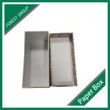 Contenitore di regalo di carta su ordinazione del cartone con stampa variopinta
