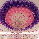 Ballon-Dekoration-Doppeltes versah Kleber-Wasser PUNKT Klebstreifen mit Seiten