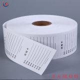 preço de fábrica de etiquetas de conteúdo de cuidados de lavagem/Non-Woven etiqueta impressa