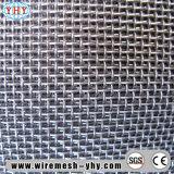 Maille enduite d'acier inoxydable de porte grillagée de garantie de peinture de poudre