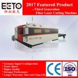 Tagliatrice del laser della fibra della piattaforma 3000*1500mm di scambio per acciaio inossidabile