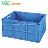Zone de la caisse de stockage pliables en plastique pour le transport et stockage