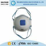 Nontissé ffp1 de type cône Masque antipoussière avec ou sans valve