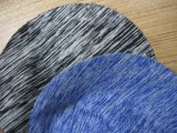 ポリエステルヤーンの染められたスパンデックスファブリックヨガの摩耗ファブリックを習慣作りなさい