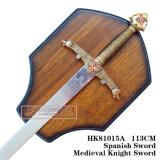 As espadas medievais da decoração das espadas da espada do lobo 105cm HK81015A