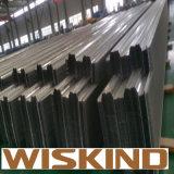 Struttura d'acciaio chiara prefabbricata della parete del parapetto per il workshop