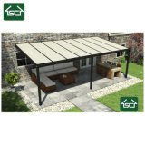 Waterproof Aluminum Adjustable Louvered Roof Cover Patio