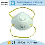 Nichtgewebter Kegel-Typ Ffp1 Atemschutzmaske mit oder ohne Ventil