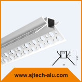 건식 벽체를 위한 고약 건축 알루미늄 LED 단면도