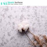 Les chutes de neige paillasse de cuisine en pierre de quartz