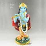 卸し売りインドの神の彫像Vishnu Laxmi多彩なMurti