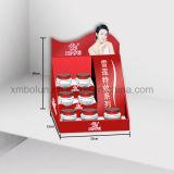 熱い販売の化粧品のための多彩なボール紙のカウンターの陳列台