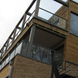 Плоская форма Toughend стеклянные балконы поручни 10мм 12мм цена