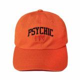 卸し売り3D刺繍のゴルフ帽子の帽子