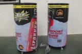 Canon rond boisson énergétique les refroidisseurs d'affichage réfrigérateur Showcase CC-65g Refroidisseur du fourreau