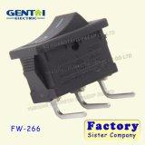 Interruptor de eje de balancín del Pin de la terminal 3 de la curva de la seguridad T85/T125/55