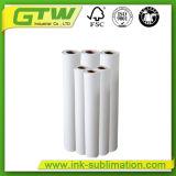 100 GSM Термосублимационная печать большого формата бумаги в размер рулона 2.4m