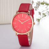 Casual Montre bracelet en cuir ODM OEM Couple Watch (Wy-118A)